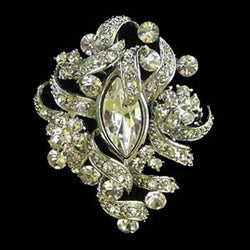 Grace Jeweled Wedding Brooches