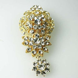 Katherine Swarovski Wedding Brooches