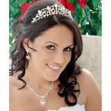 Teardrop Bridal Tiara