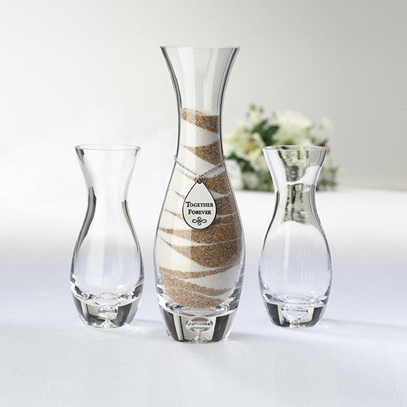 """Together Forever"" Unity Sand Vase Set"