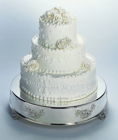 Round Wedding Cake Tableau Stand
