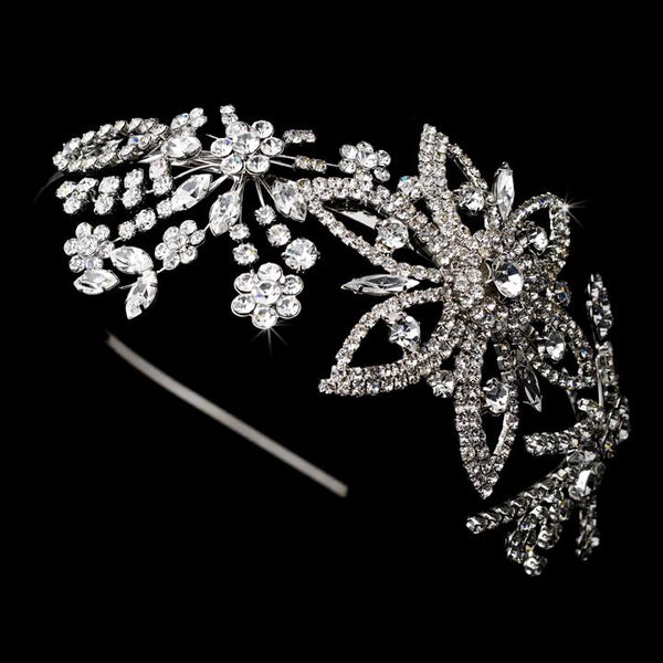 Swarovski Burst Bridal Headbands