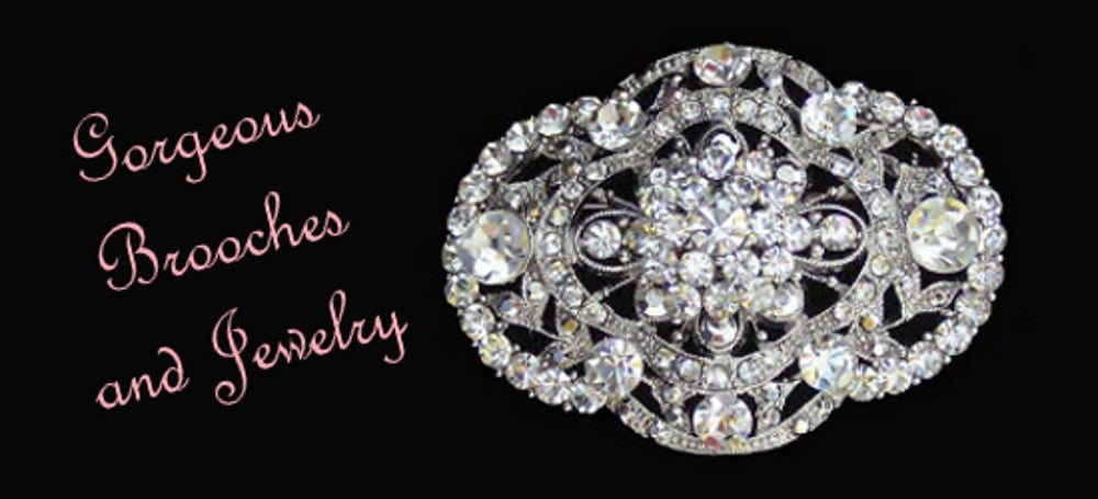 Gorgeous Brooches and Jewelry