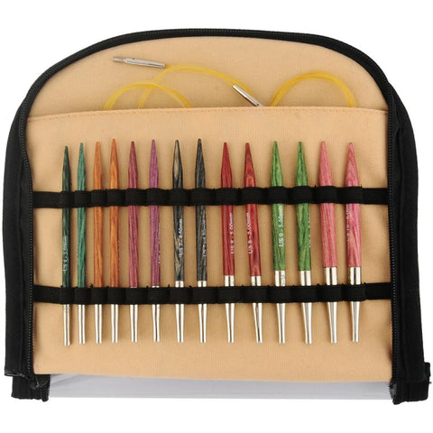 Knitters Pride Deluxe NEEDLE Set SPECIAL Interchangeable DREAMZ Wood