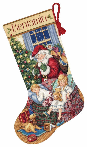 COUNTED CROSS STITCH Christmas Stocking KIT Sweet DREAMS Dimensions 16""