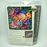 NEEDLEPOINT Dimensions Kit FLORAL SPLENDOR Flower Rose 14x14