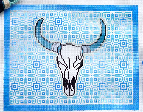 Needlepoint Handpainted Thorn Alexander A Day in Santa Fe 10x8