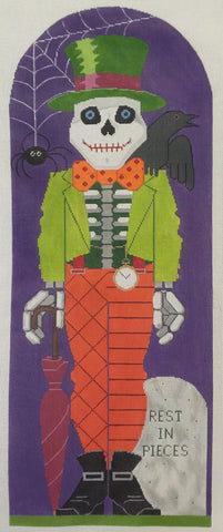 Needlepoint Handpainted Labors of Love HALLOWEEN Hal O Ween 6x15