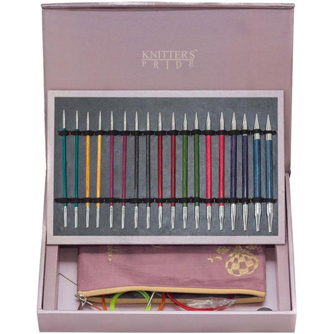 Knitting Needle Set Interchangeable KNITTERS PRIDE Royale Holiday Set Paris