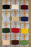 Embroidery THREAD Retors Du Nord #3 Essential Tones Discovery Asst Set of 12 w/Box