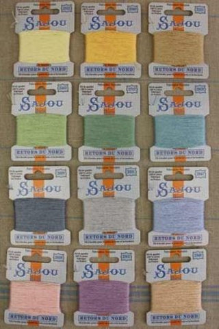 Embroidery THREAD Retors Du Nord #4 PASTEL Tones Discovery Asst Set of 12 w/Box