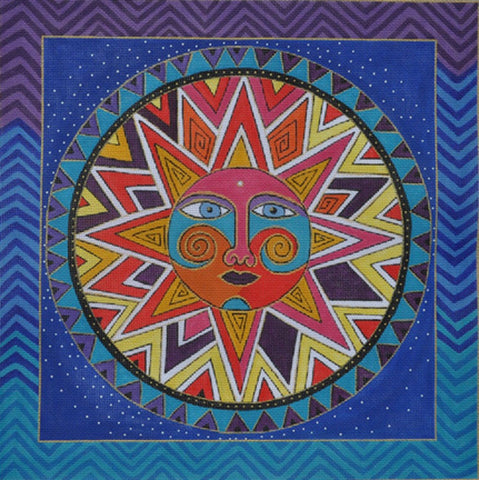 NEEDLEPOINT Handpainted Laurel Burch CELESTIAL DREAMS 14x14