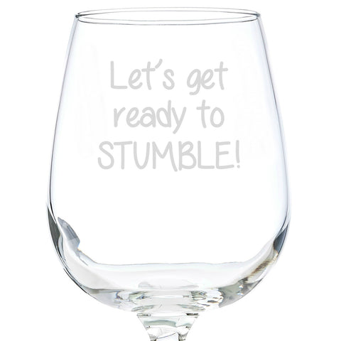 Stumble Wine Glass