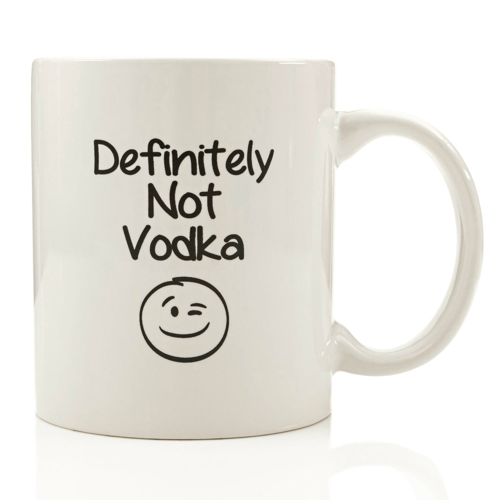 Definitely Not Vodka Coffee Mug
