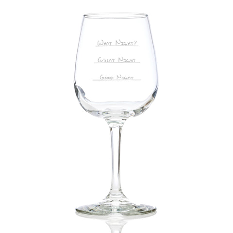 What Night Wine Glass