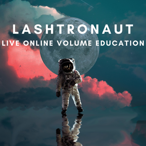 Lashtronaut Live Online Volume Training Course