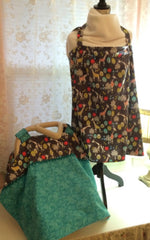 Infant Car Seat Cover & Matching Nursing Cover Set