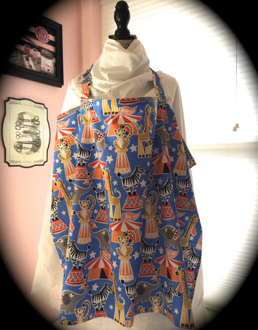 Nursing Cover - Circus Time