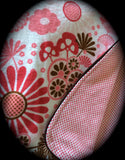Infant Car Seat Cover - Large Flowers