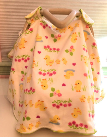 Infant Car Seat Cover - Ducks