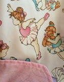 Infant Car Seat Cover - Ballerina Baby