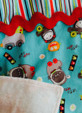 Infant Car Seat Cover - Monsters