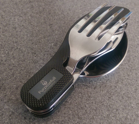Purposefull Camping Cutlery Kit