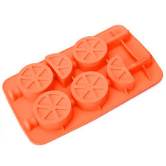 Purposefull Fruit 3 x sets Shaped Party Silicone Jello Chocolate Mold Ice Cube Tray with 2 Drink Stirrers