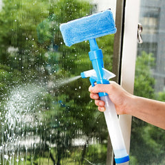 Purposefull Multi-function Home Tools Spray Water Brush Window Cleaner