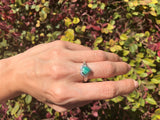 925 Sterling Silver 1.51 Carat Genuine Emerald & Genuine Diamond Ring