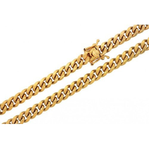 Solid Gold Miami Cuban Link