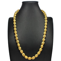 FANTASTIC RUCHED BEADED NECKLACE