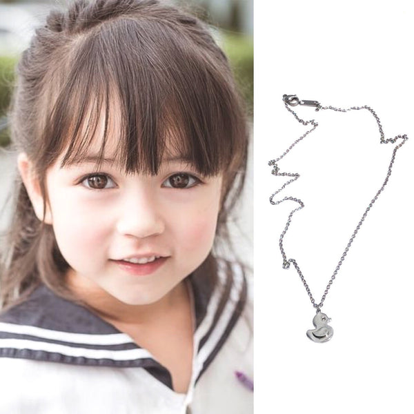 Stainless Steel  Toddler Girls  Duck Chain
