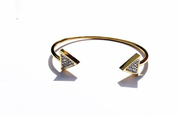 Arrow Crystal Bangle