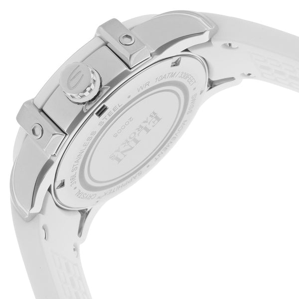 SPIRIT DIAMOND WHITE SILICONE MOTHER OF PEARL DIAL