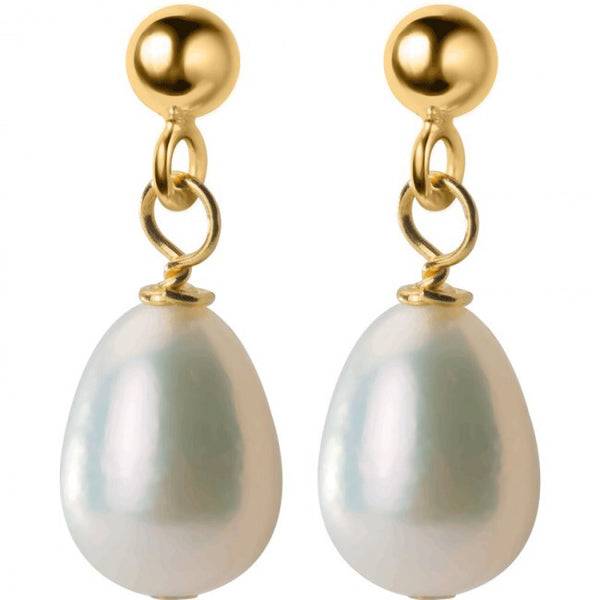 Shell Pearl 925 Sterling Silver Dangling Earrings