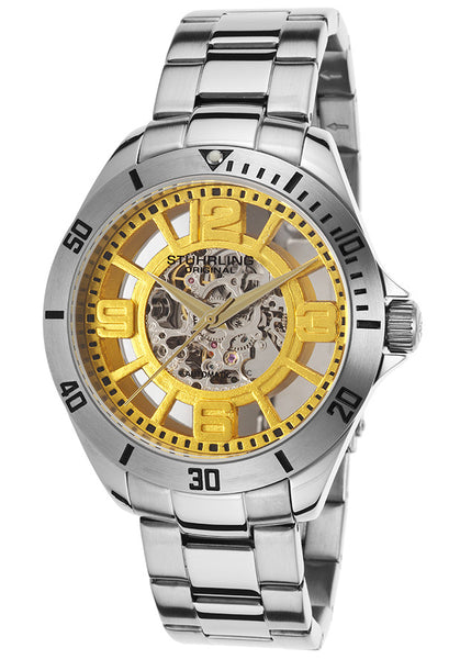MEN'S LEGACY NEO WINCHESTER AUTO SS METALIC YELLOW DIAL