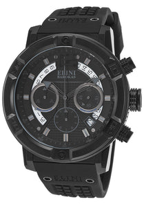 SPIRIT CHRONO BLACK SILICONE DIAL AND CASE GUNMETAL SUBDIAL