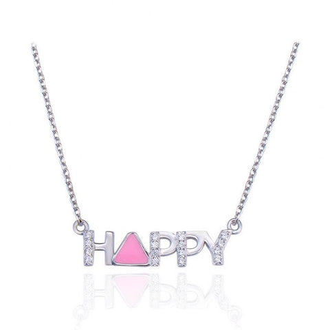 HAPPY 925 Sterling Silver Necklace