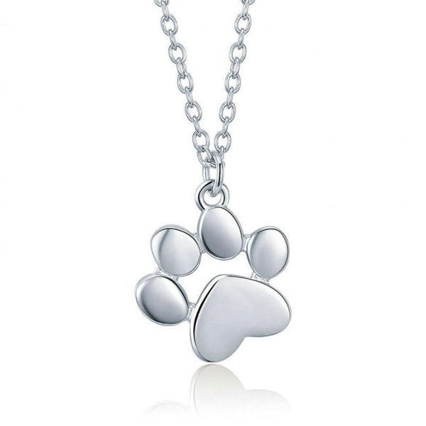 Paw 925 Sterling Silver Pendant