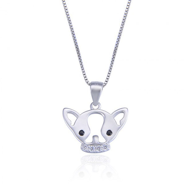 Chihuahua 925 Sterling Silver Pendant