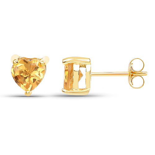 Solid Gold 0.50 Carat Citrine