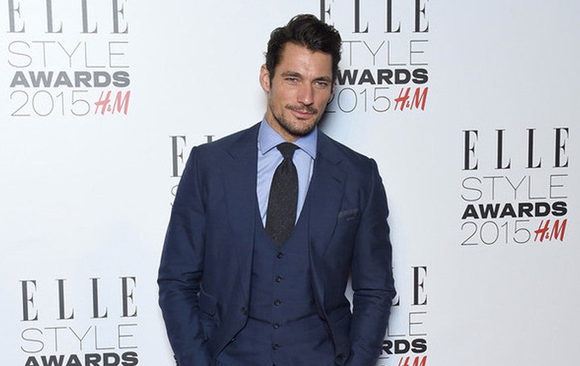 David Gandy wears Birline watches at Elle Style Awards 2015