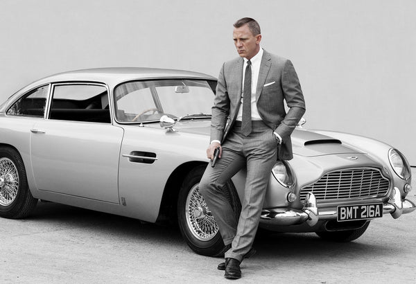 Dress Like James Bond - A Lesson in Sauve British Style