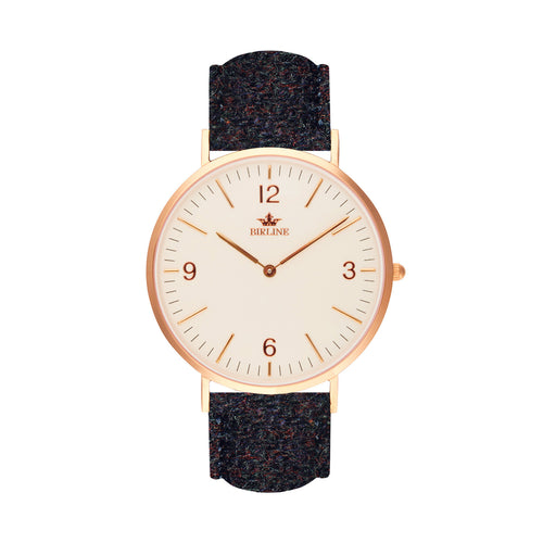 Orinsay | 36mm - Harris Tweed Watch - Birline