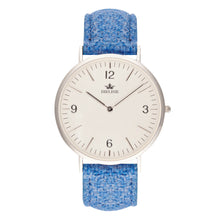 Load image into Gallery viewer, Harris Tweed Light Blue Loudwater Watch