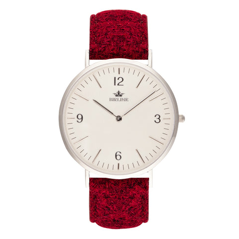 Harris Tweed Red Oxshott Watch
