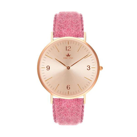 Beverley | Rose Gold / Rose gold | 36mm - Harris Tweed Watch - Birline