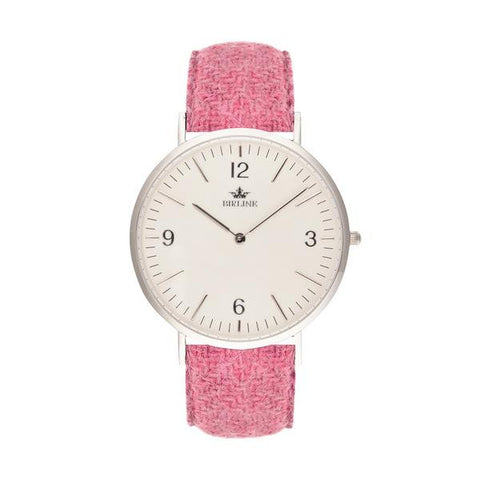 Beverley | Silver | 36mm - Harris Tweed Watch - Birline