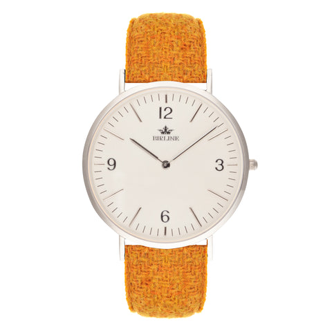 Harris Tweed  Yellow Bickley Watch